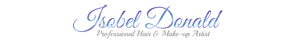 Glagow Professional Hair and Make-Up Artist Isobel Donald