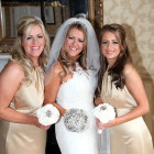 Wedding bride with make-up by Isobel Donald Professional Make-up artist